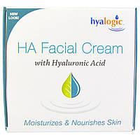 Hyalogic LLC, HA, крем для лица с гиалуроновой кислотоы, 2 жидкие унции (56,7 г)