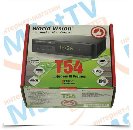World Vision T54 цифровой T2 ресивер, фото 2