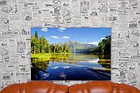 "Картина на холсте ""Красивое озеро. Россия. Природа"". 60х40 см."