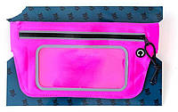 Сумка на пояс Yes розовая (554092)