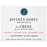 Jeffrey James Botanicals, Крем антивозрастной с антиоксидантами, 59 мл