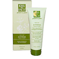Kiss My Face, Start Up, отшелушивающее средство для лица, 4 жидких унции (118 мл)