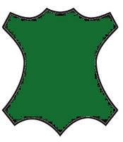 Краска для кожи, замши, нубук 100мл Темно зеленый
