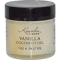Kuumba Made, Кокосовое масло с ванилью, 29,57 мл (1 унция)