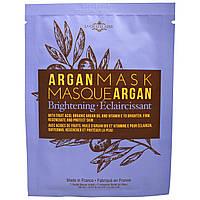 La Chatelaine, Аргановая маска, осветляющая, 1 маска-салфетка для лица,0,67 жидк. унц. (20 мл)