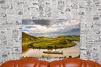 """Картина на холсте """"Озеро. Германия. Природа"""". 60х40 см."""