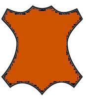 Краска для кожи, замши, нубук 100мл Ржаво Оранж(рыжий)