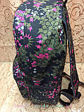 Принт рюкзак качество с кожаным дном Унисекс/спортивный спорт городской стильный(только опт), фото 3