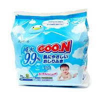 GOO.N Салфетки влажные для младенцев Goo.N (70шт*3)