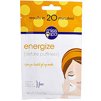 Miss Spa, Miss Spa Pre-Treated Gel Eye Mask Energize