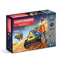 Магнитный конструктор Гонки, 39 элементов, серия Высокие технологии, Magformers