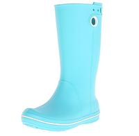 Сапоги резиновые Crocs Crocband Jaunt Rain Boot голубые, 38 размера