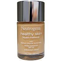 Neutrogena, Здоровая кожа, жидкий макияж, SPF 20, телесный 40, 1 жидкая унция (30 мл)