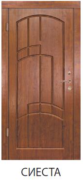 """Входная дверь для улицы """"Портала"""" (серии комфорт) Сиеста"""