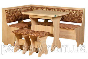 Кухонный уголок с раскладным столом Атаман