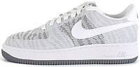 Женские кроссовки Nike Air Force 1 07 Knit Jacquard White/Cool , найк, айр форс