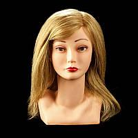 Тренировочная голова «Bust» с азиатскими волосами 40 см.