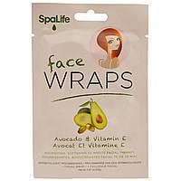 My Spa Life, Маска для лица, авокадо и витамин Е, 1 маска