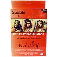 My Spa Life, Red Clay Facial Mask, 3 Facial Masks, 2.43 oz (69 g)