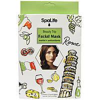 My Spa Life, Путешествие красоты Маска для лица, Мерло + антиоксиданты, 3 маски для лица
