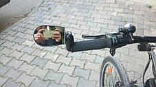 Зеркало заднего вида для велосипеда в руль, фото 3