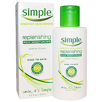 Simple Skincare, Регенерирующий глубоко увлажняющий крем, 4,2 унции (124 мл)