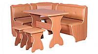 Кухонный уголок с раскладным столом Президент