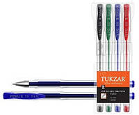Набір ручок гелевих неон 4 кол. TUKZAR