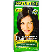 Naturtint, Стойкая краска для волос, 1N оттенок Черное дерево, 5.28 жидких унций (150 мл)
