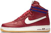 Мужские кроссовки Nike Air Force 1 High 07 Gym Red Deep Royal Blue , найк, айр форс