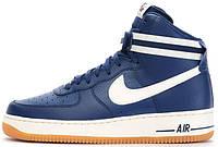 Мужские кроссовки Nike Air Force 1 High '07 Coastal Blue, найк, айр форс