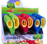 Ножницы канцелярские 8705 (150мм) прорезиненные ручки, фото 1