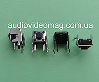 Кнопка тактовая 2 pin 6х6х5 мм, боковая