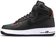 Мужские кроссовки Nike Air Force 1 High 'BHM', найк, айр форс