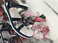 Детские босоножки на липучках для девочек оптом Размеры 31-35, фото 1