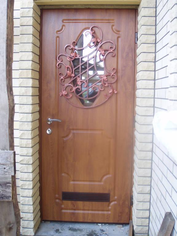 Бронированная дверь в котельную