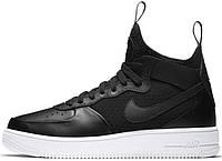 Мужские кроссовки Nike Air Force 1 Ultraforce Mid Black, найк, айр форс