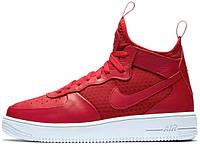 Мужские кроссовки Nike Air Force 1 Ultraforce Mid University Red, найк, айр форс
