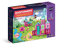 Магнитный конструктор Замок принцессы, 78 элементов, серия Для девочек, Magformers