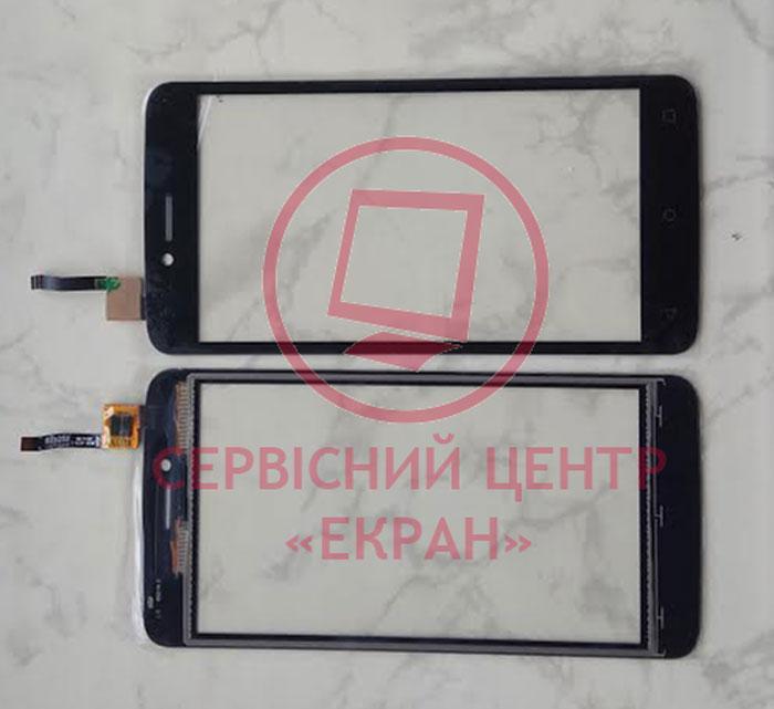 Сенсорний екран для смартфону Fly FS505, тачскрін чорний