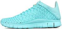 Женские кроссовки Nike Free Inneva Woven Tech SP LIGHT AQUA, найк, фри ран