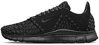 Женские кроссовки NikeLab Free Inneva Woven II Black, найк, фри ран