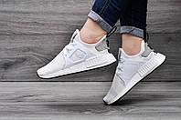Женские белые кроссовки Adidas NMD