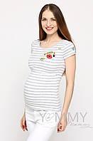 Yammy Mammy Футболка для беременных и кормящих Yammy Mammy арт. 207.1.120