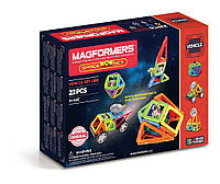 Магнитный конструктор Космический, 22 элемента, серия Средства передвижения, Magformers