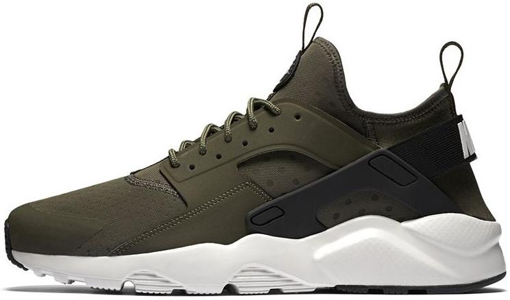 7ce0737e Мужские кроссовки Nike Air Huarache Run Ultra CARGO KHAKI LIGHT BONE BLACK