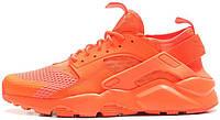 Мужские кроссовки Nike Air Huarache Run Ultra Breathe Orange, найк, айр хуараче