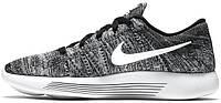Мужские кроссовки Nike LunarEpic Low Flyknit Oreo, найк
