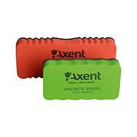 Губка магнитная Axent 9802-A для сухостираемых досок и флипчартов, 11x5.7x2.2 мм
