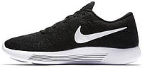 Мужские кроссовки Nike LunarEpic Low Flyknit Black White Anthracite, найк
